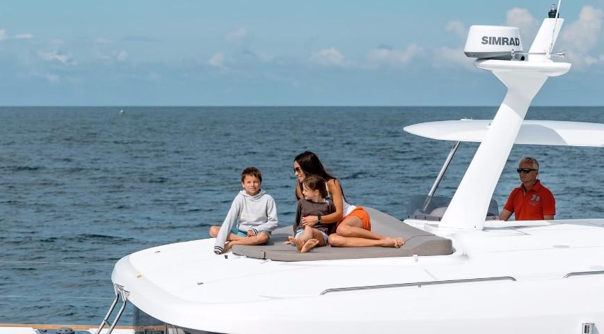 Powered Catamaran Lagoon 40 Power Catamaran With Watermaker