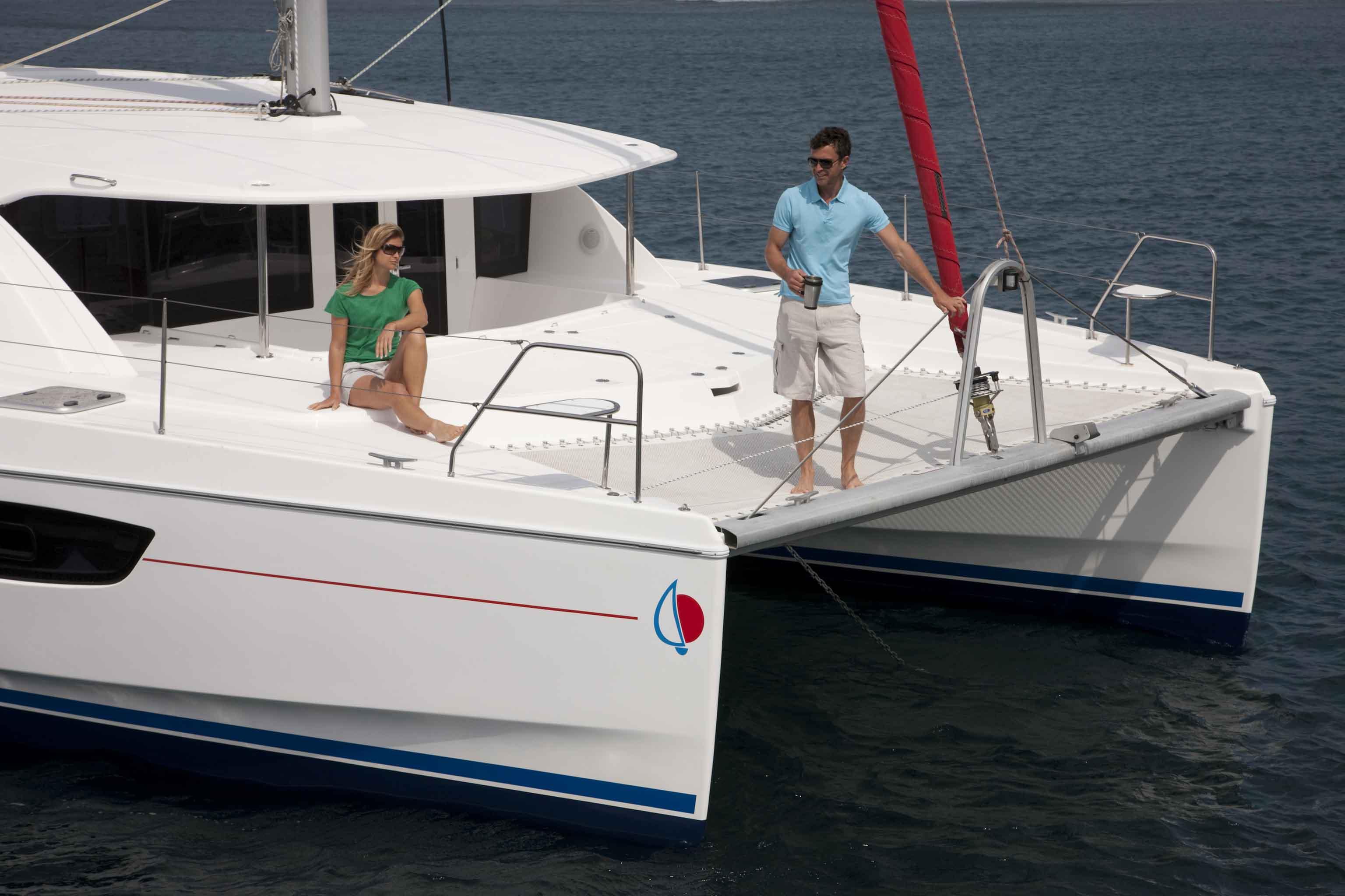 Catamaran Leopard 44