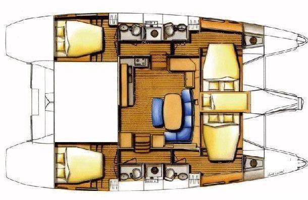 Catamaran Lagoon 421