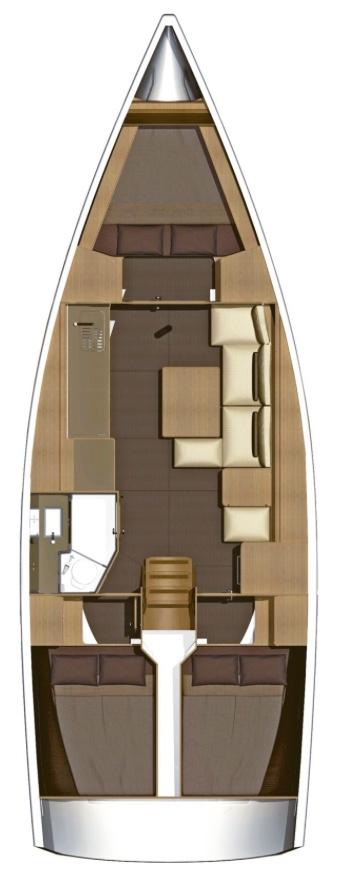 Monohull Dufour 382 Grand Large