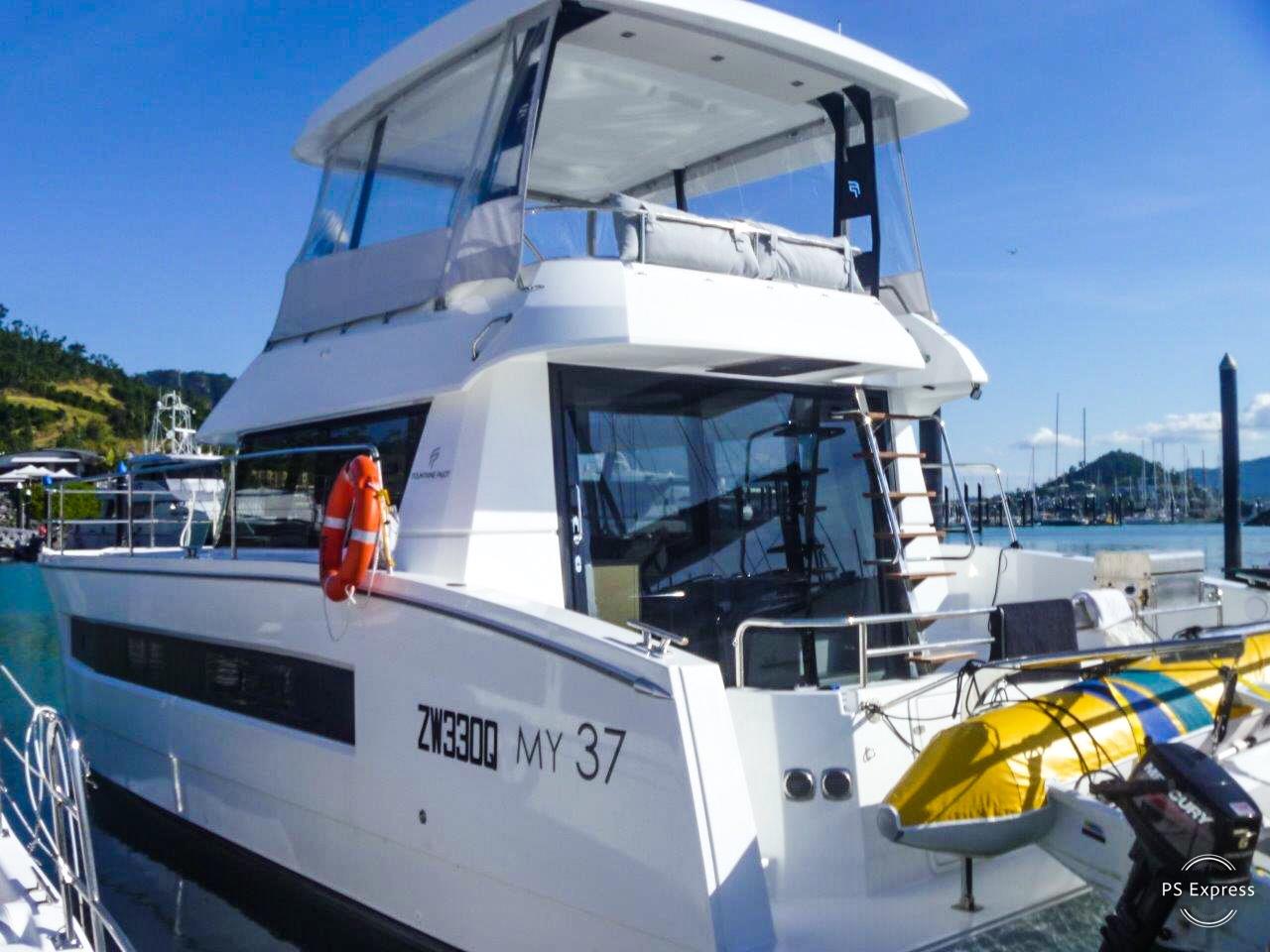 Powered Catamaran Motor Yacht 37 With A/C
