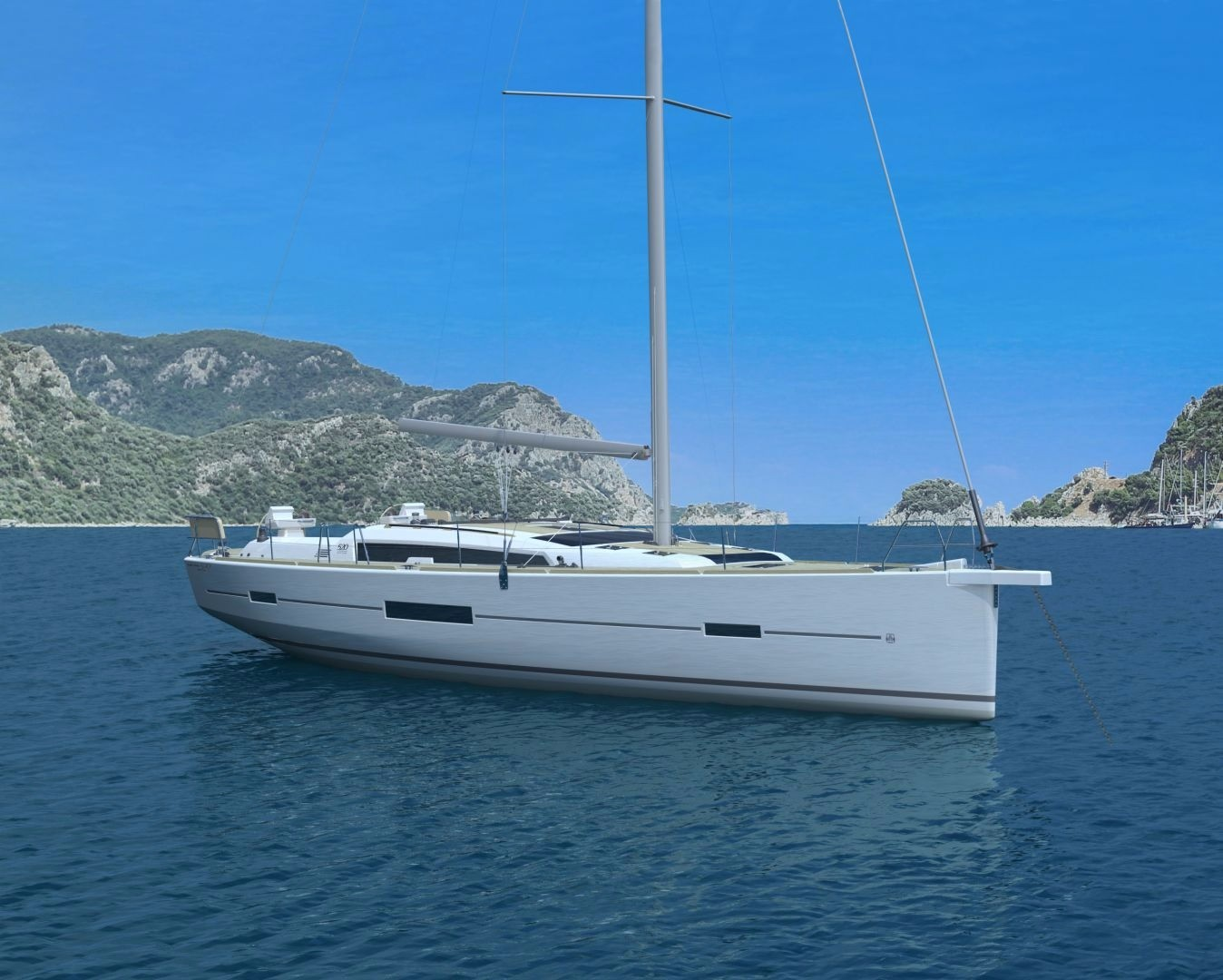 Monohull Dufour 520 GL With A/C