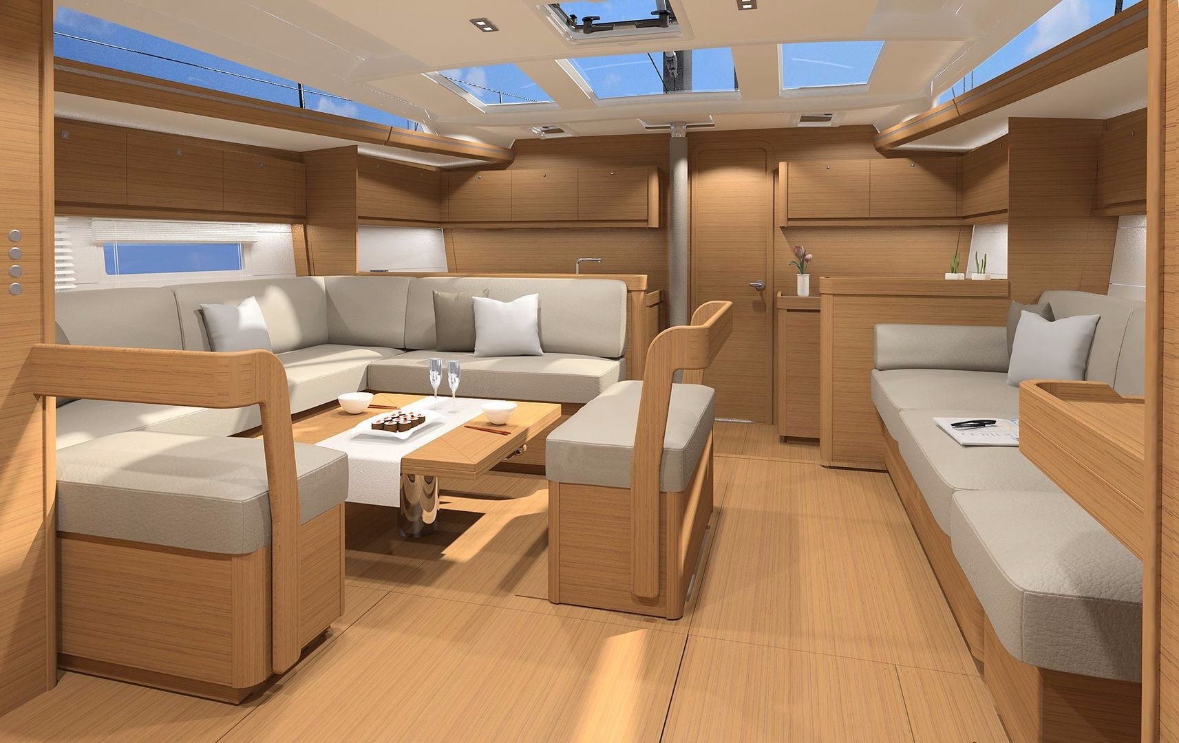 Monohull Dufour 520 GL With Watermaker & A/C - PLUS