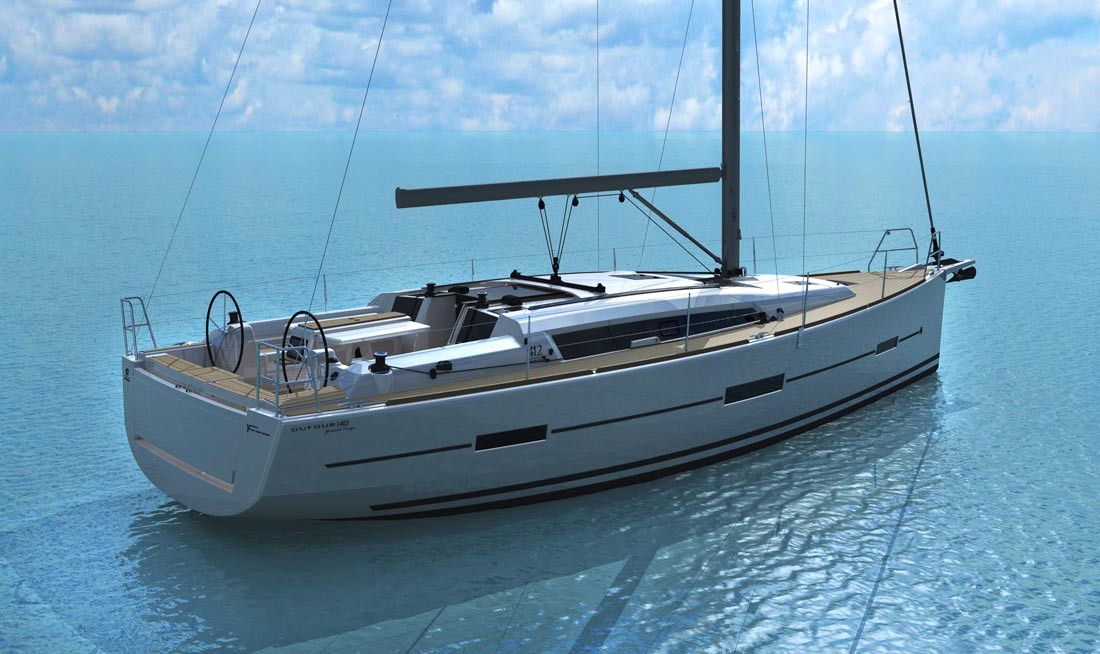Monohull Dufour 412 Adventure With Watermaker