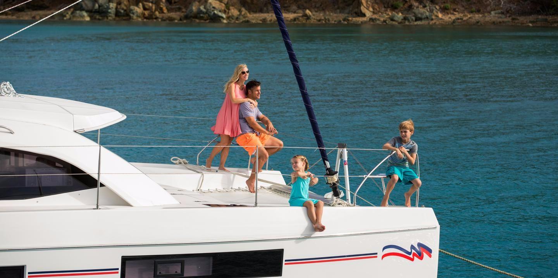 Catamaran Leopard 4000