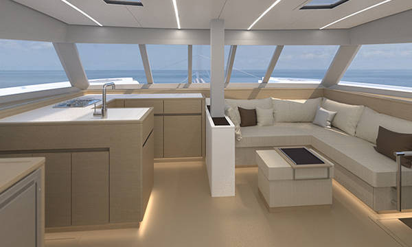 Catamaran Nautitech 46 Open With Watermaker & A/C - PLUS