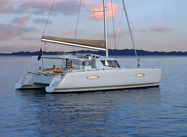 Catamaran Helia 44 With Watermaker & A/C - PLUS