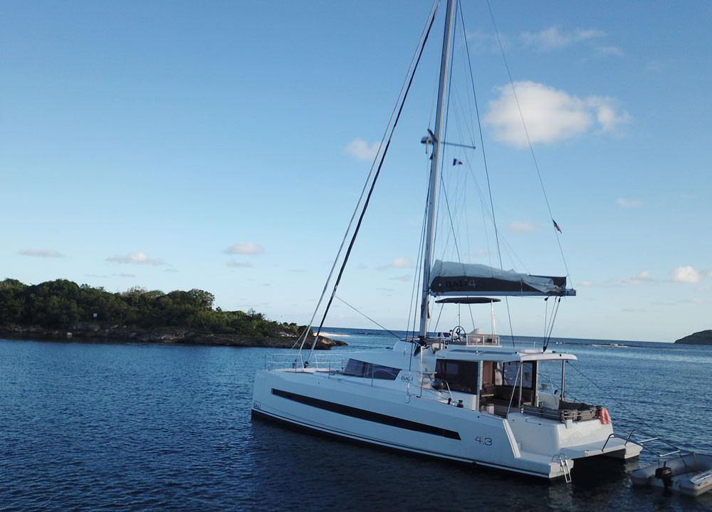 Catamaran Bali 4.3 O.V. With Watermaker & A/C - PLUS