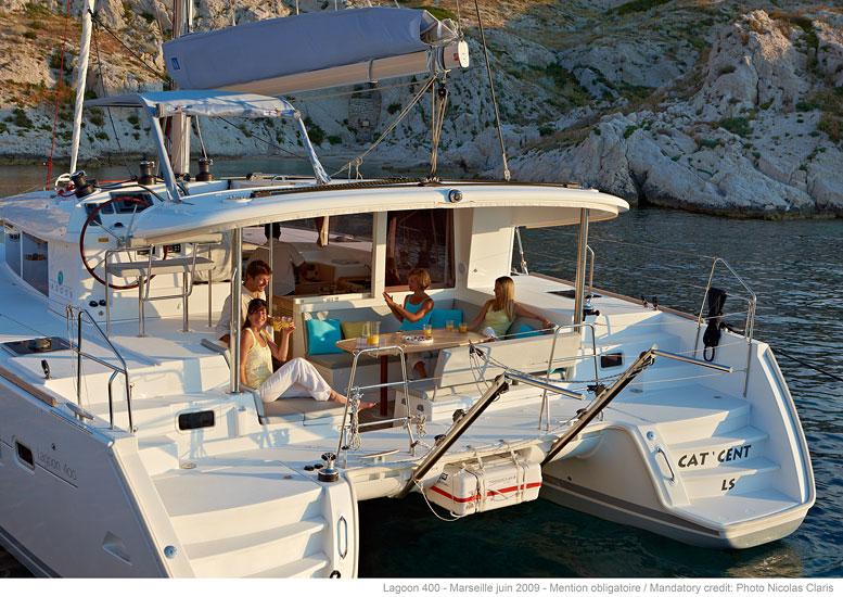 Catamaran Lagoon 400 S2 Cabin Charter