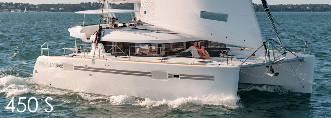 Catamaran Lagoon 450 S With Watermaker & A/C - PLUS