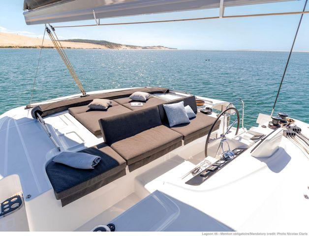 Catamaran Lagoon 46 AC & GEN & WM