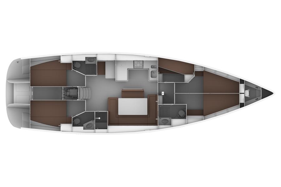 Monohull Bavaria Cruiser 50