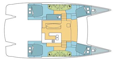 Catamaran Salina 48 Evolution With A/C