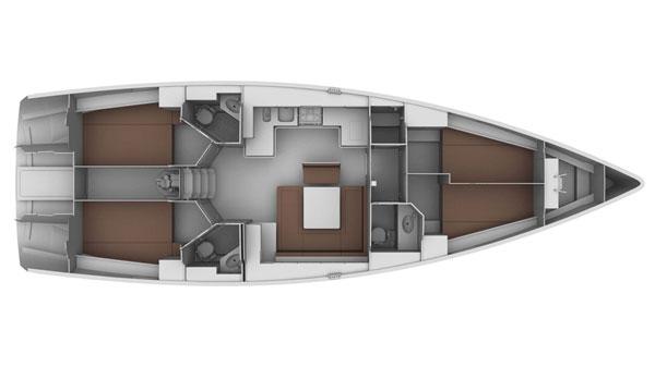 Monohull Bavaria Cruiser 45
