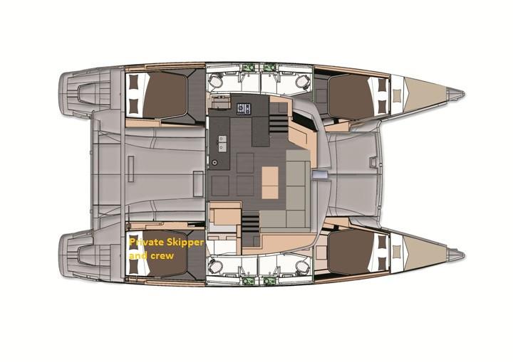 Crociera Cabin Cruise Jan 6 Days / 5 Nights - Helia 44