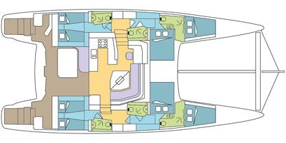 Crociera Bora Bora Dream 8 Days / 7 Nights - Catana 55 CI With Watermaker & A/C - PLUS