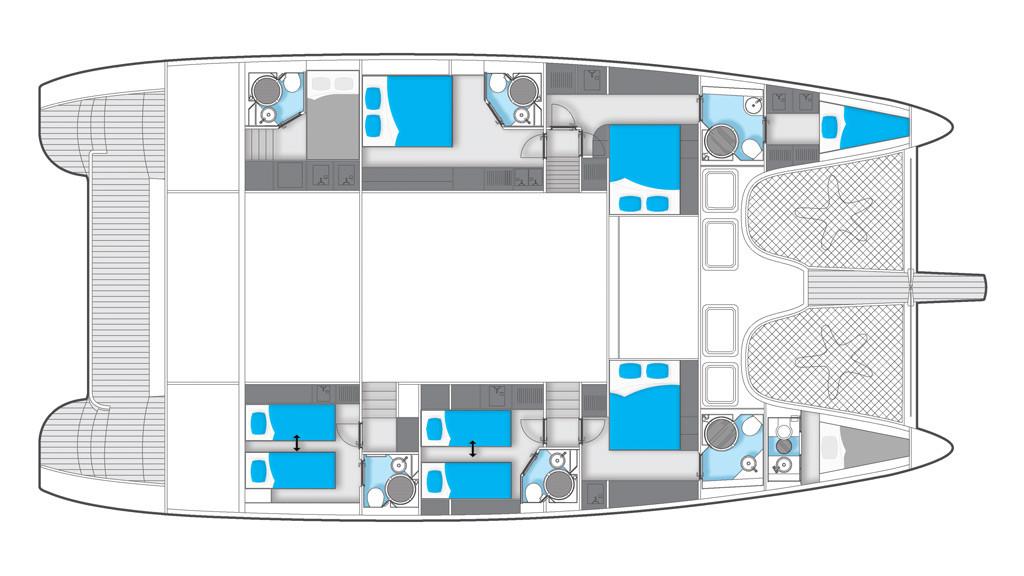 Crociera Tortola Dream Premium - Sunreef 70 Crewed