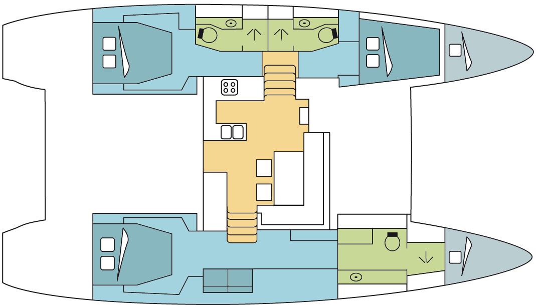 Catamaran Lagoon 450 O.V. With A/C
