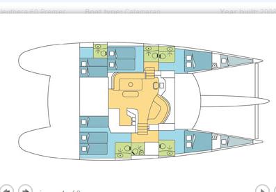 Crociera Silhouette Dream - Eleuthera 60 Crewed