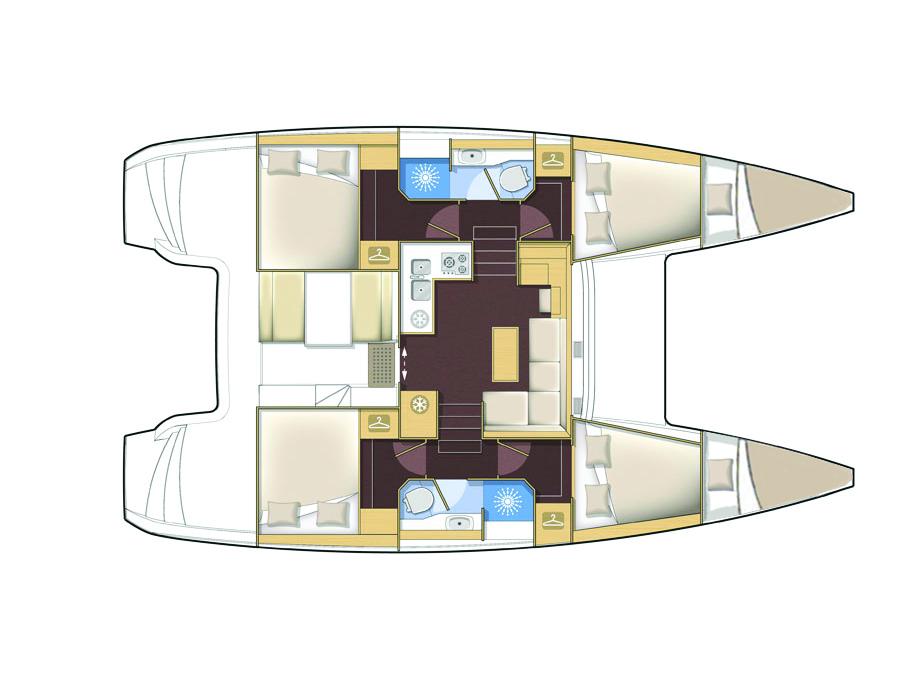 Catamaran Lagoon 39