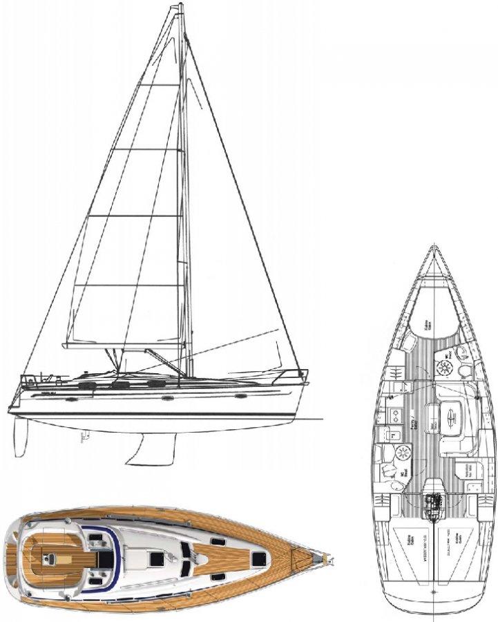Monohull Bavaria 39 Cruiser