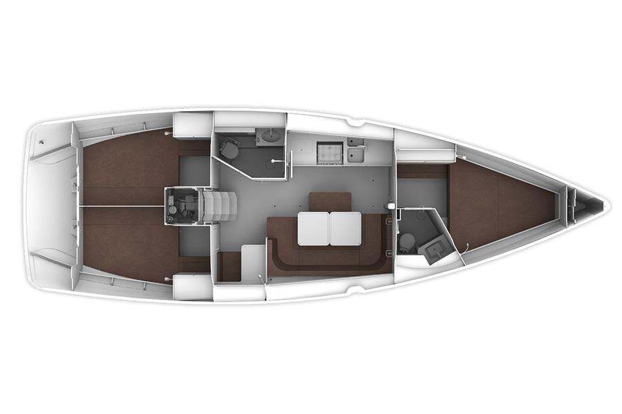 Monohull Bavaria Cruiser 41