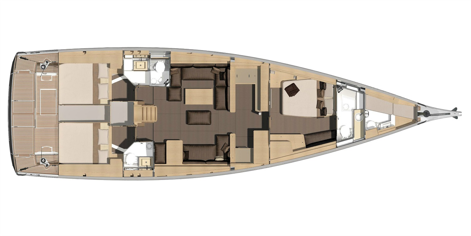 Monohull Dufour 560 Grand Large