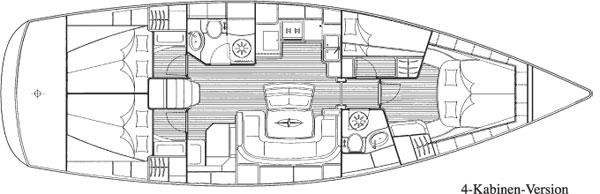Monohull Oceanis 43
