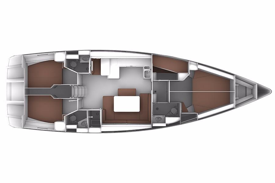 Monohull Bavaria Cruiser 51
