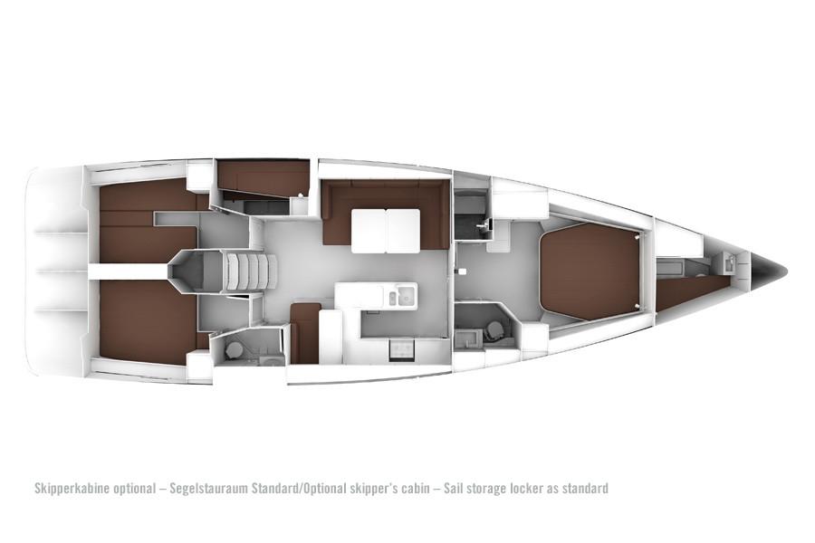Monohull Bavaria Cruiser 56