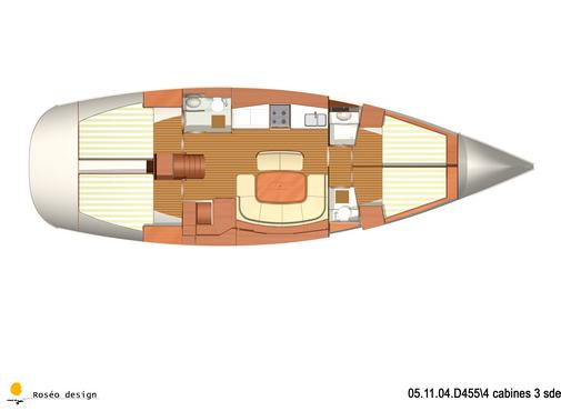 Monohull Dufour 455 Grand Large