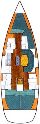 Monohull Oceanis 411