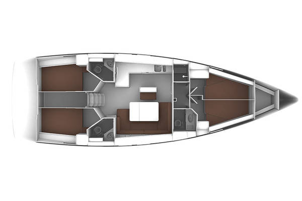Monohull Bavaria 46 Cruiser