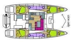 Catamaran Lagoon 450F